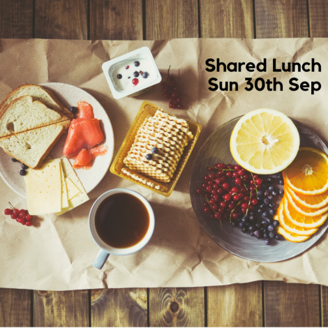 30th September Shared Lunch - primary image