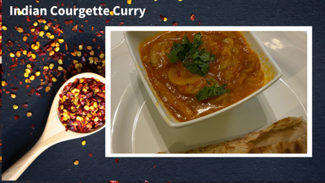 Indian Courgette Curry - primary image