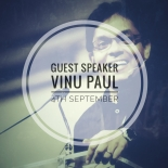 Guest Speaker // Vinu Paul - primary image