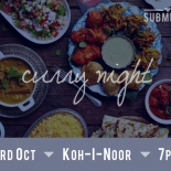 Submerge Social: Curry Night - primary image